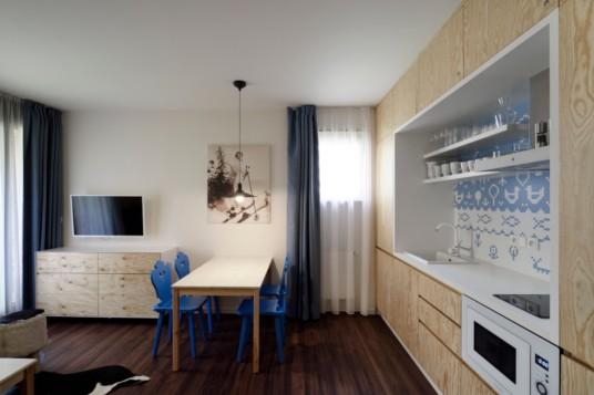 Krkonošský styl - Aparthotel Svatý Vavřinec