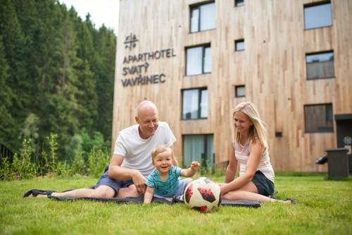 Apartmány Svatý Vavřinec balíček pro rodiny s dětmi