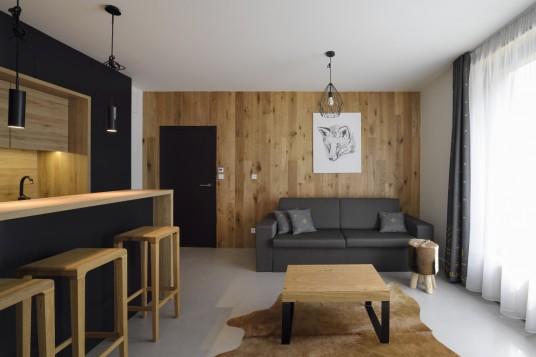 Glamour styl - Aparthotel Svatý Vavřinec