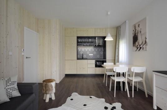 Skandinávský styl - Aparthotel Svatý Vavřinec