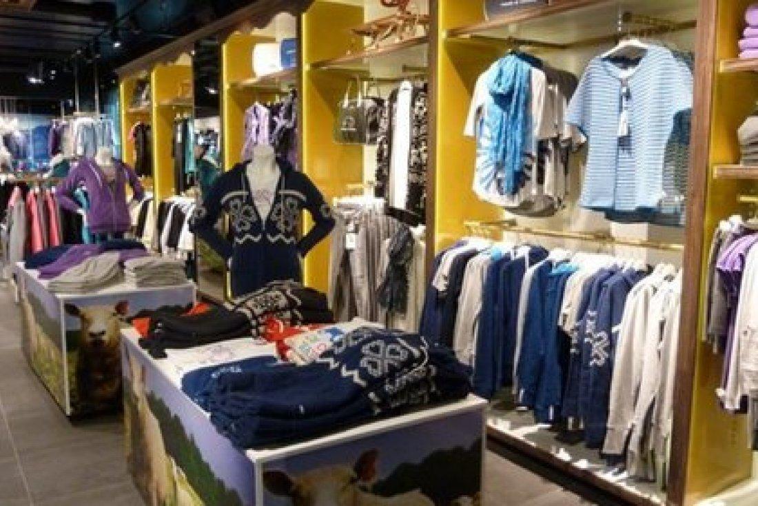 Prodejna sportovních oděvů