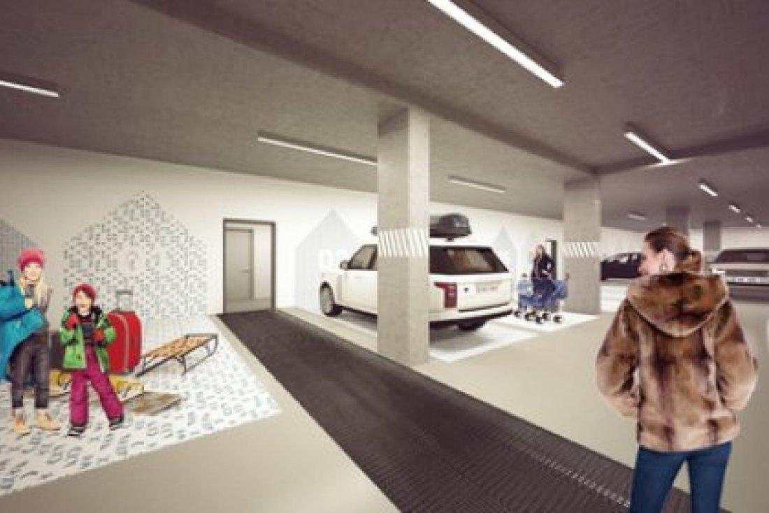 Podzemní garáže